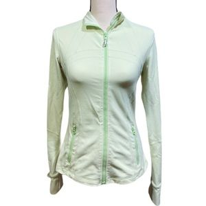 Lululemon Define Jacket Lime Green
